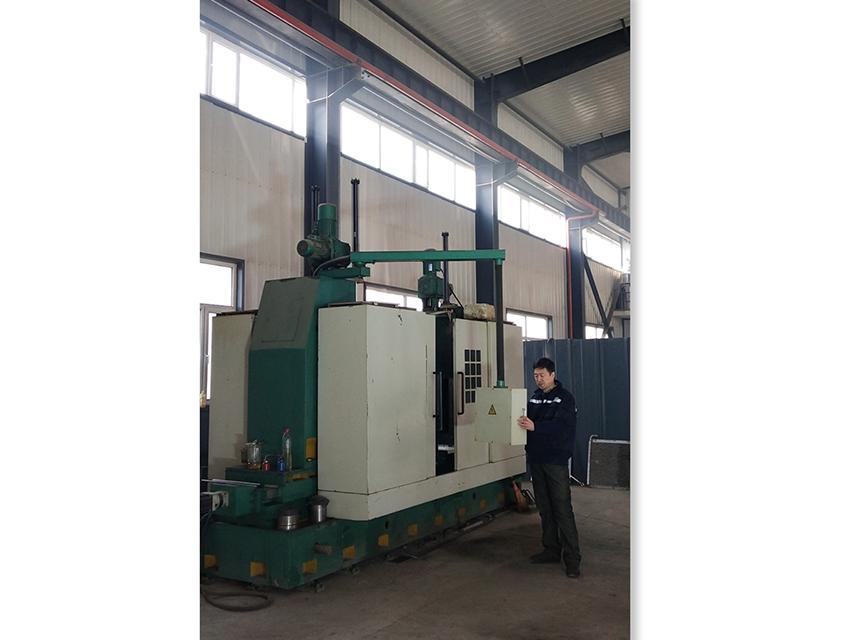 CNC rotor machining center